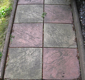 Imprinted Concrete Repairs Bucks image
